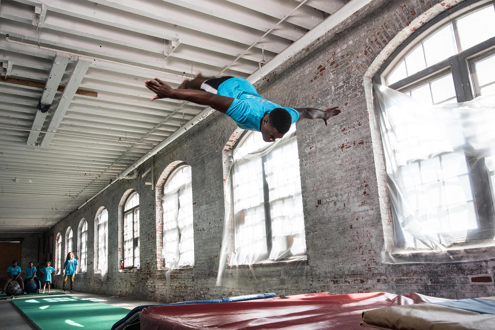 Trenton Circus Squad: Take a Big Leap initiative