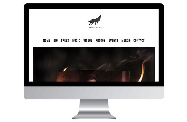 Tragic Hero Website