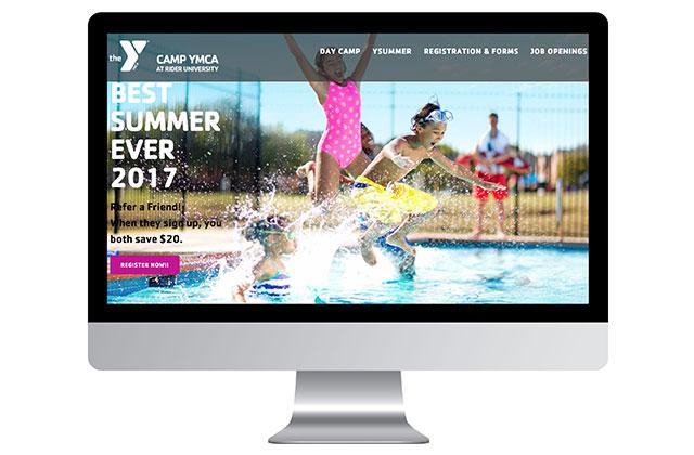 Trenton YMCA Summer Camp website